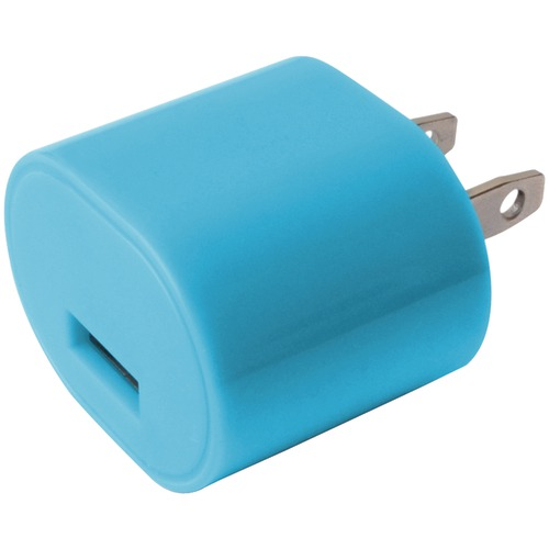 Iessentials 1-amp Usb Wall Charger (blue)