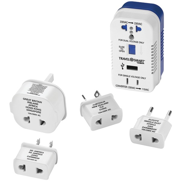 Travel Smart By Conair 2-outlet, 1,875-watt Converter Fo