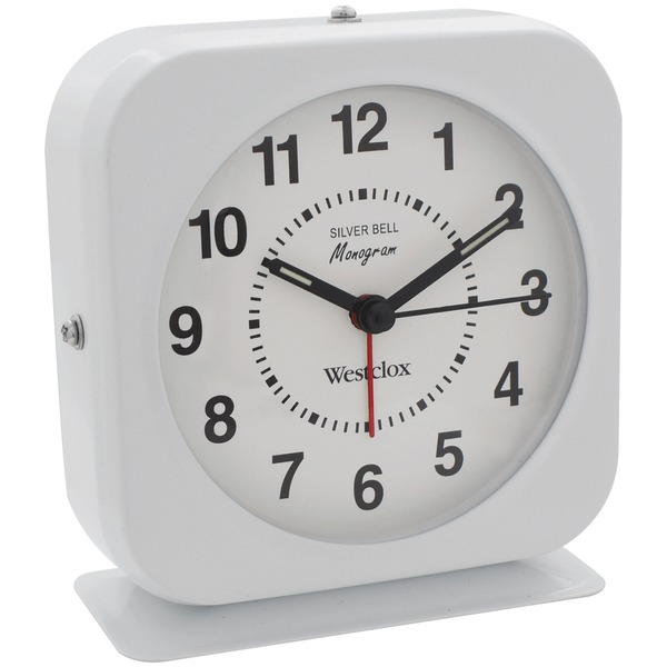 Westclox Bell Alarm Clock With Metal Case