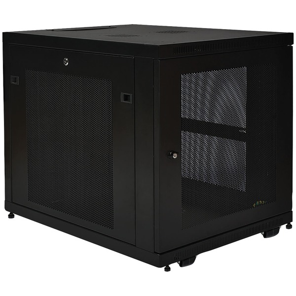 Tripp Lite 12u Smartrack Mid-depth Rack Enclosure Cabinet