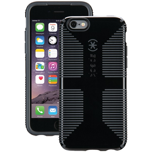 Speck Candyshell Grip Case For Iphone 6 And 6s (black And Slate