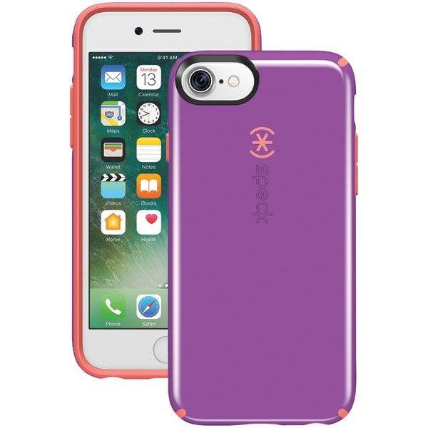 Speck Candyshell Case For Iphone 7 (revolution Purple And Warnin