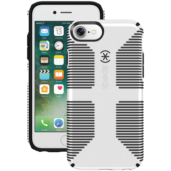 Speck Candyshell Grip Case For Iphone 7 (black And White)