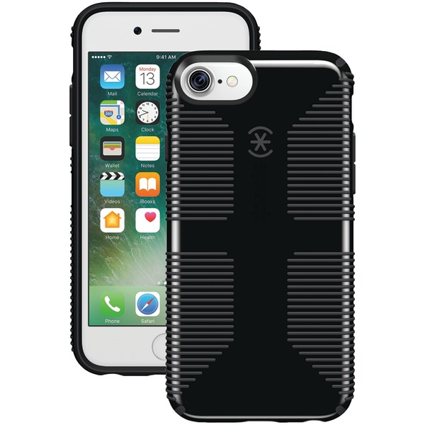 Speck Candyshell Grip Case For Iphone 7 (black And Slate Gray)