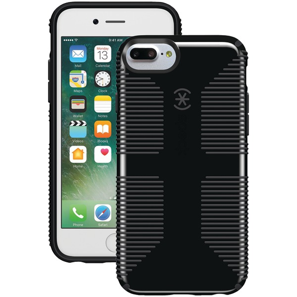 Speck Candyshell Grip Case For Iphone 7 Plus (black And Slate Gr