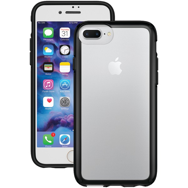 Speck Gemshell Case For Iphone 7 Plus (clear And Black)