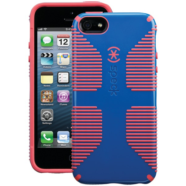 Speck Candyshell Grip Case For Iphone 5 And 5s And Se (harbor Bl