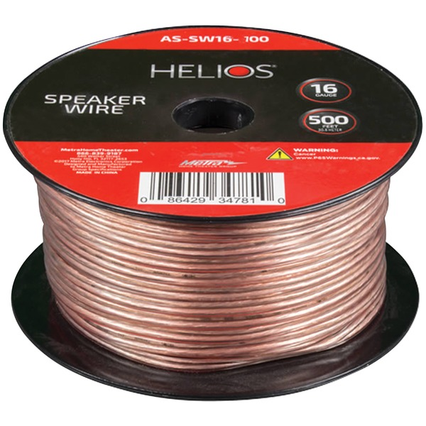 Helios 16-gauge Speaker Wire (500ft)