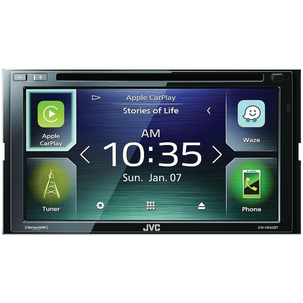 "Jvc Mobile 6.8"" Double-din In-dash Dvd Receiver With Bl"
