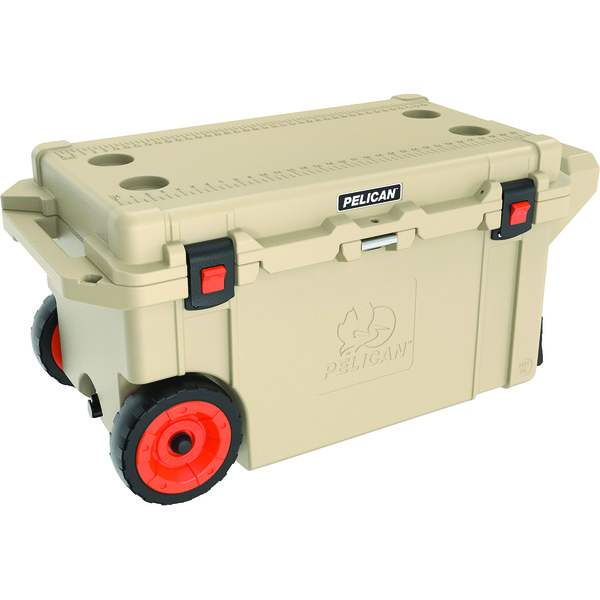 Pelican 80-quart Elite Cooler With Built-in Wheels (tan)
