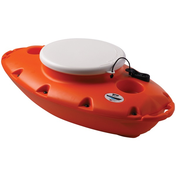 Creekkooler 15-quart Pup Floating Cooler (orange)