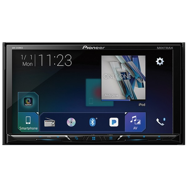 "Pioneer 7"" Double-din In-dash Nex Dvd Receiver With Mot"