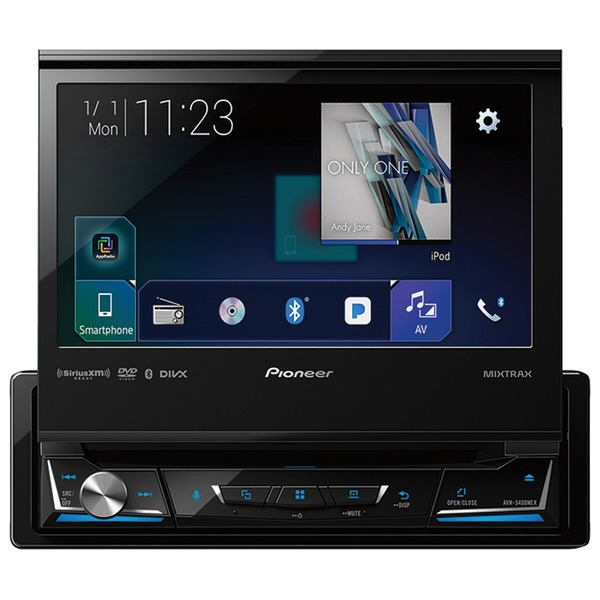 "Pioneer 7"" Single-din In-dash Nex Dvd Receiver With Mot"