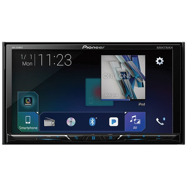 "Pioneer 7"" Double-din In-dash Digital Media Receiver Wi"