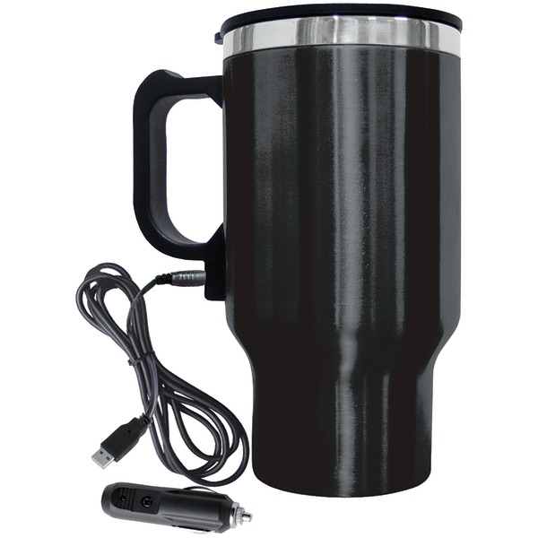 Brentwood Appliances 16-ounce Electric Coffee Mug With Wire Car