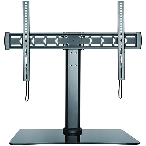Stanley 32-inch To 70-inch Adjustable Tabletop Tv Stand With Gla