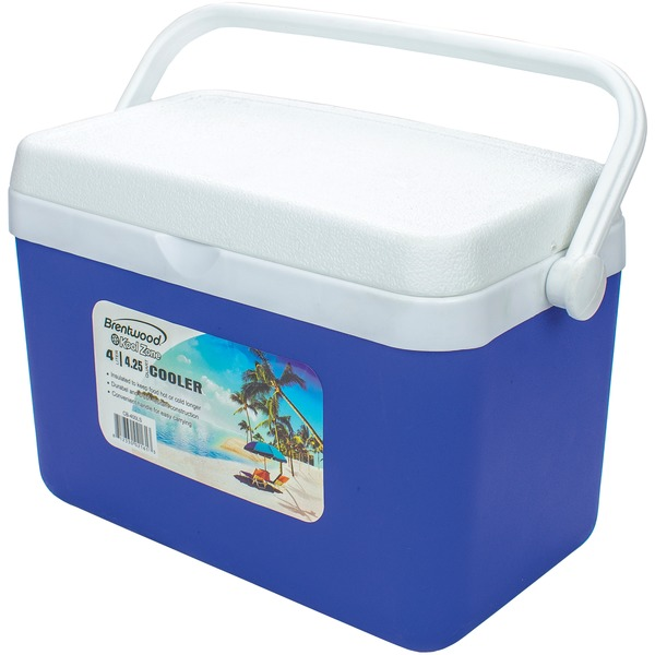 Brentwood Appliances 4.2-quart Kool Zone Cooler Box With Handle