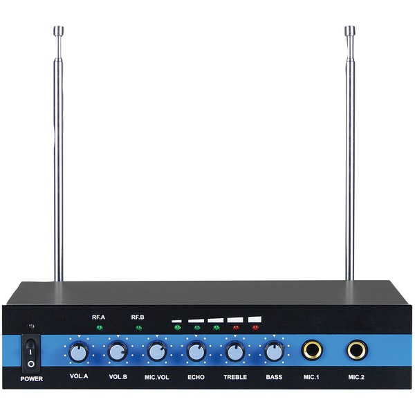 Blackmore Pro Audio Dual Channel Wireless Microphone System