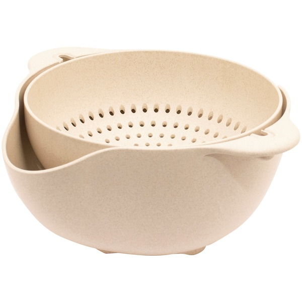 Gourmet By Starfrit Eco Large Colander And Bowl