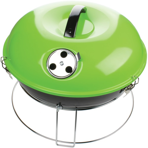 Brentwood Appliances 14-inch Portable Charcoal Grill (green)