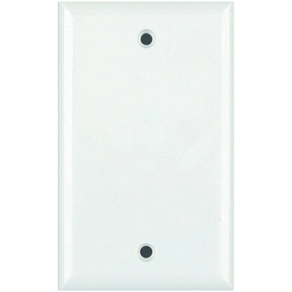 Datacomm Electronics Standard Blank Wall Plate (white)