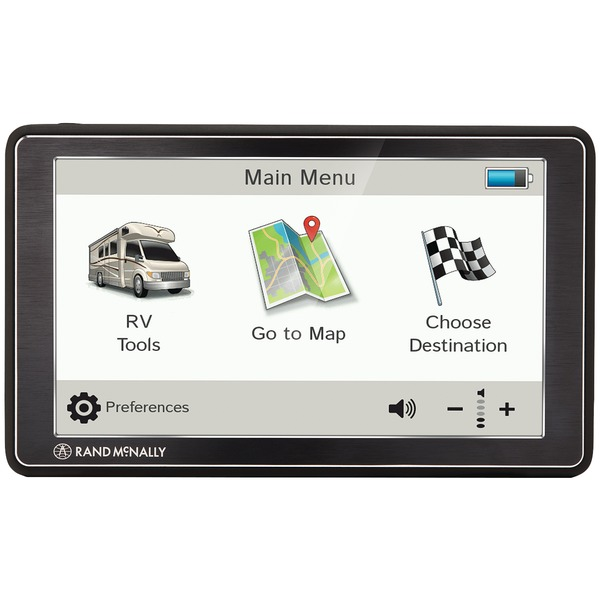 Rand Mcnally Rvnd 7 Gps Device With Free Lifetime Maps