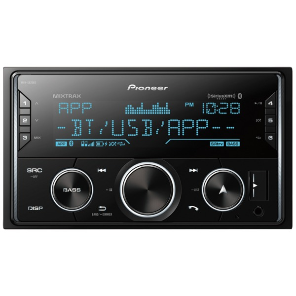 Pioneer Double-din In-dash Digital Media Receiver With Bluetooth