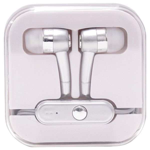 Travelocity Stereo In-ear Earbuds With Microphone