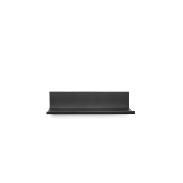 Hangman 12-inch No-stud Floating Shelf (black Powder Coat)