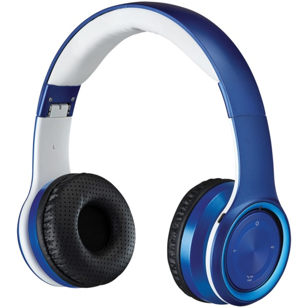 Ilive Bluetooth Over-the-ear Headphones With Microphone (blue)