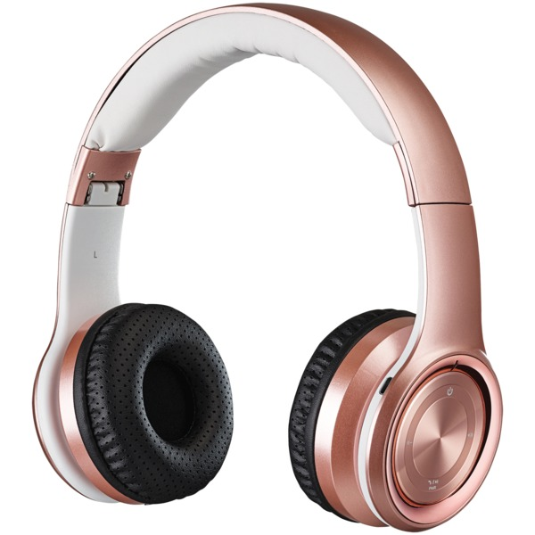 Ilive Bluetooth Over-the-ear Headphones With Microphone (rose Go