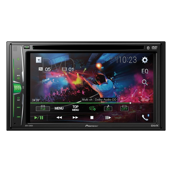 Pioneer 6.2-inch Double-din In-dash Multimedia Dvd Receiver With