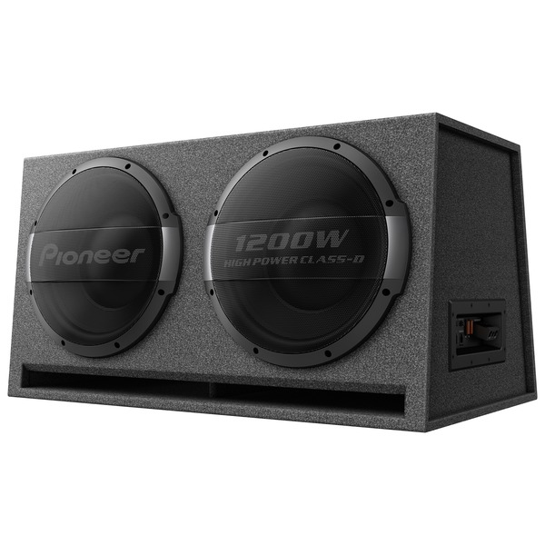 Pioneer Dual 12-inch Ported Enclosure Powered Subwoofer