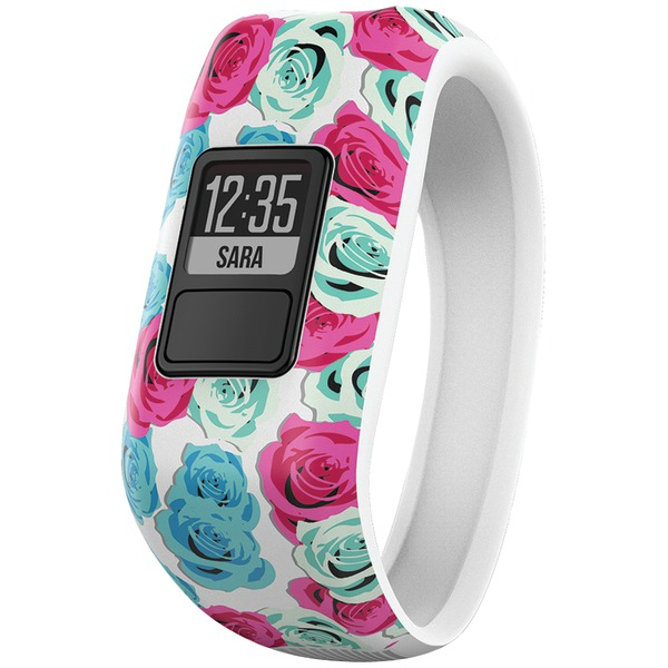 Garmin Vivofit Jr. Fitness Band (real Flower)