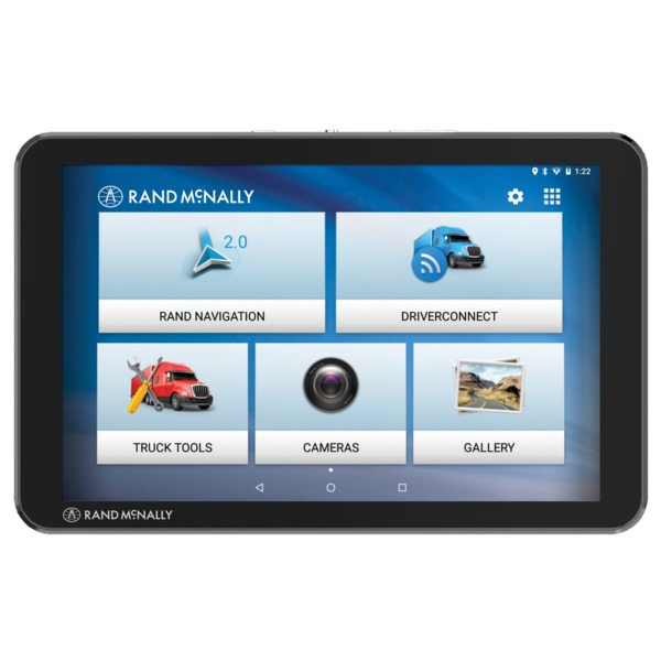 Rand Mcnally 8-inch Tnd Tablet 85 With Built-in Dash Cam