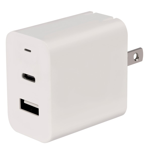 At&t 18-watt Usb And Type-c Power Adapter