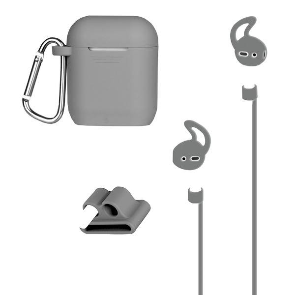 At&t Airpods Case And Accessories Kit (gray)