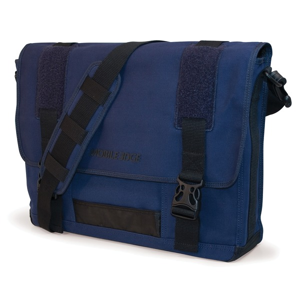 Mobile Edge Eco-friendly Canvas Messenger Bag For 17.3""