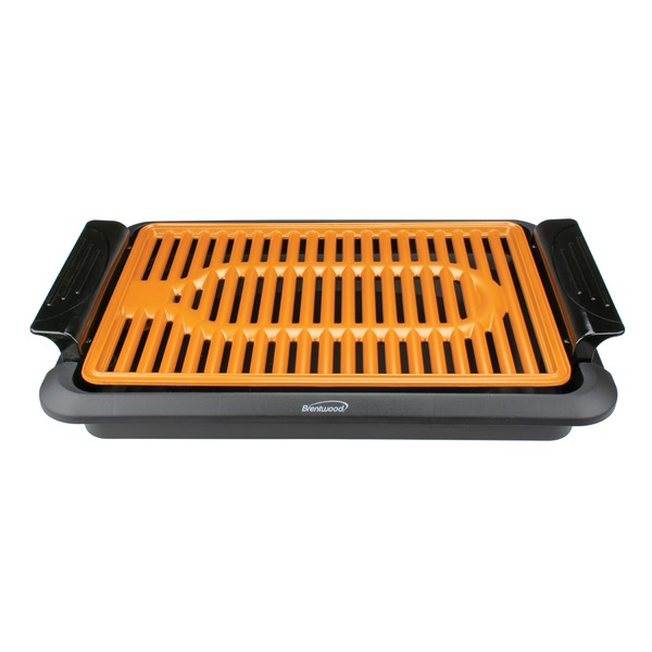 Brentwood Appliances 1,000-watt Indoor Electric Copper Grill