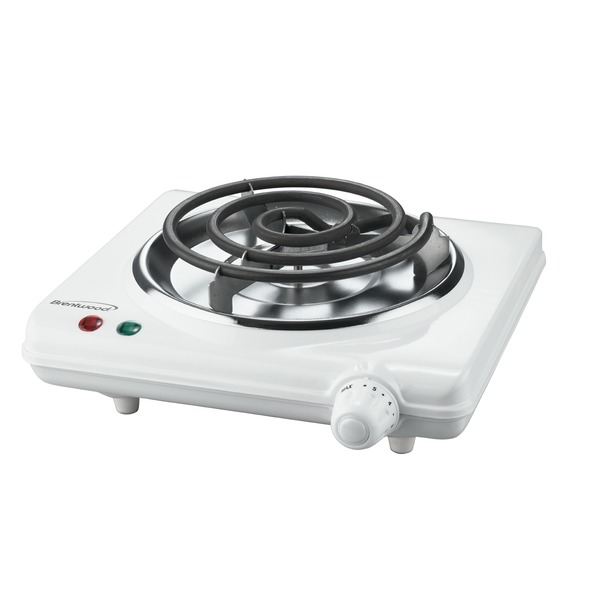 Brentwood Appliances 1,000-watt Single Electric Burner
