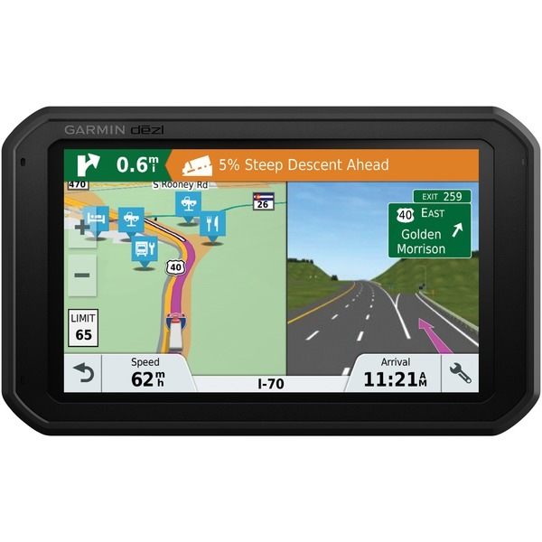 "Garmin Dezl 780 Lmt-s 7"" Gps Navigator With Bluetooth &"
