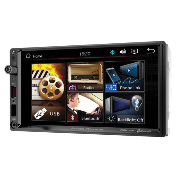 Power Acoustik Pl-700hb 7-inch Double-din In-dash All-digital Me