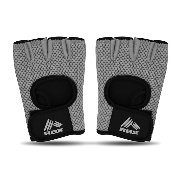 Rbx Small Fitness Gloves, Pair (charcoal)