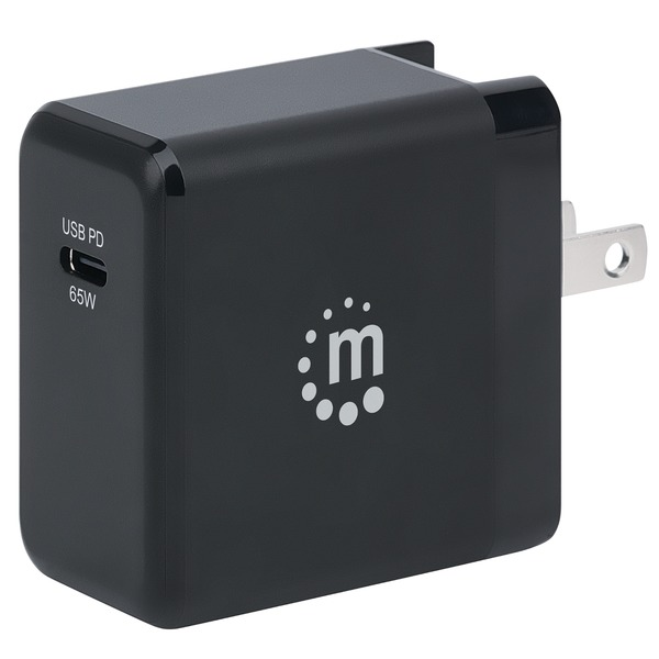 Manhattan 65-watt Gan Tech Power Delivery Wall Charger