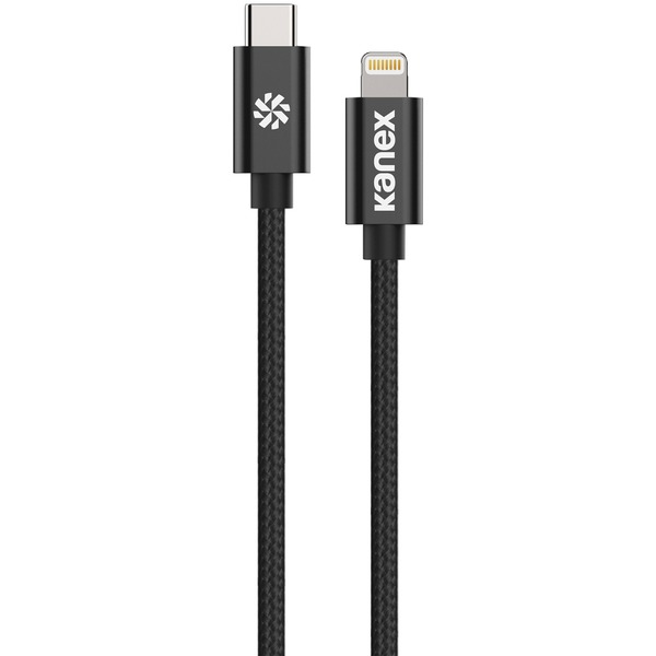 Kanex Premium Durabraid Usb-c To Lightning Cable, 6 Feet (bl