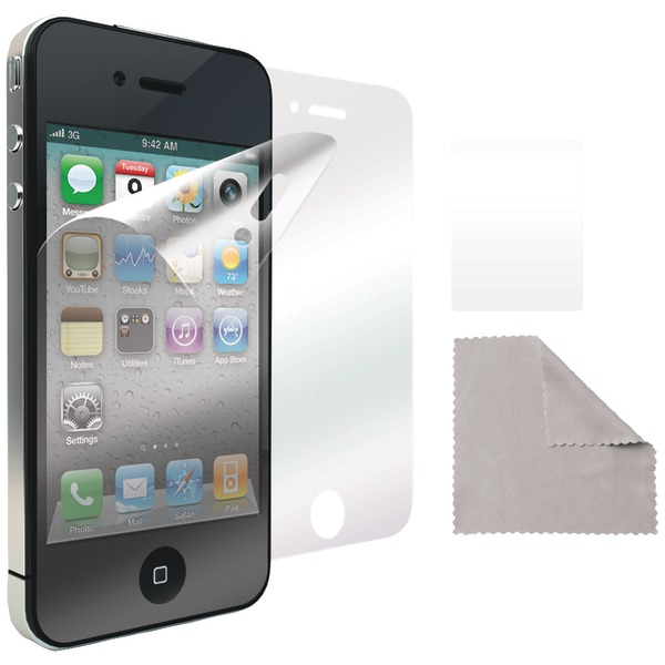 Iluv Iphone 4 And 4s Glare-free Film Protectors, 2pk