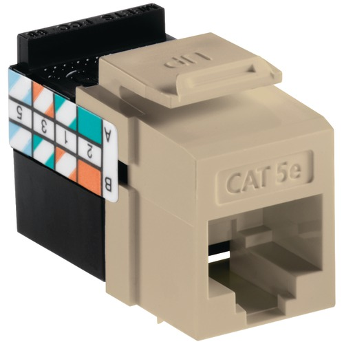 Leviton Quickport Cat-5e Jack (ivory)