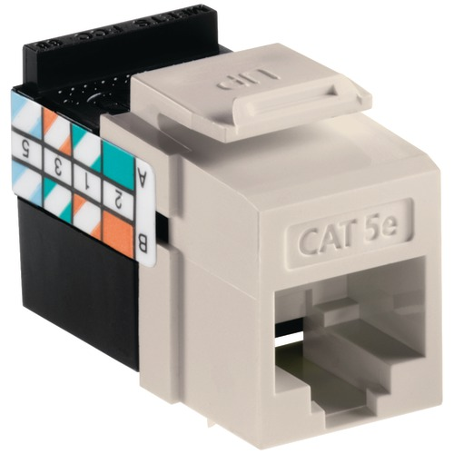 Leviton Quickport Cat-5e Jack (light Almond)