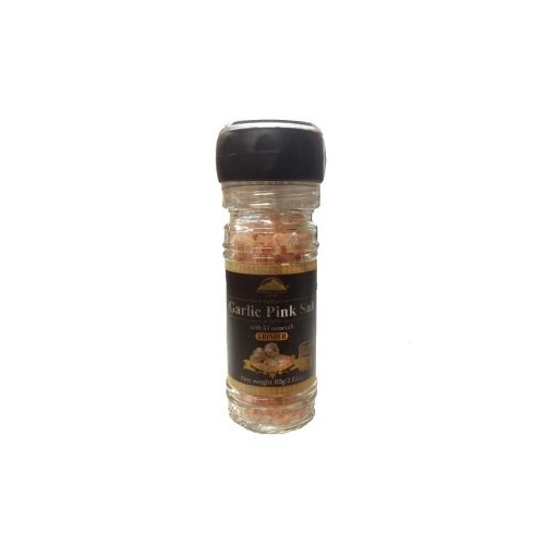 Garlic Pink Salt Grinder