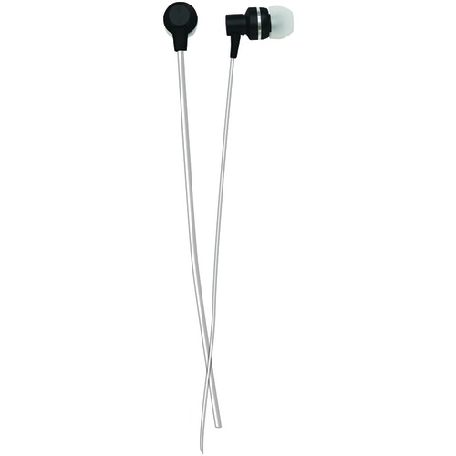 Naxa Metallix Isolation Stereo Earbuds (black)